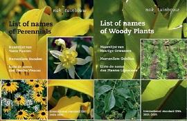 Pubblicati gli elenchi aggiornati dei nomi internazionali delle piante