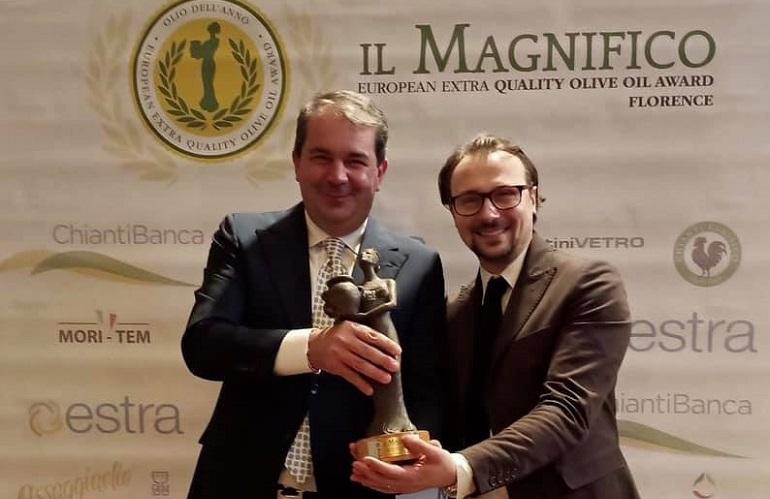 olio Mimì vincitore del premio il Magnifico 2021