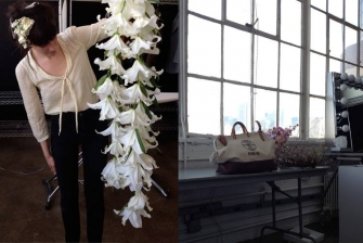 Focus on Amy Merrick, -flowers and s tyling, Brooklyn, New York-