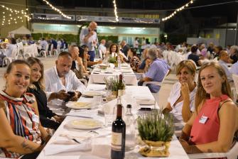 Serata del Vivaismo, cena, 10 settembre 2020