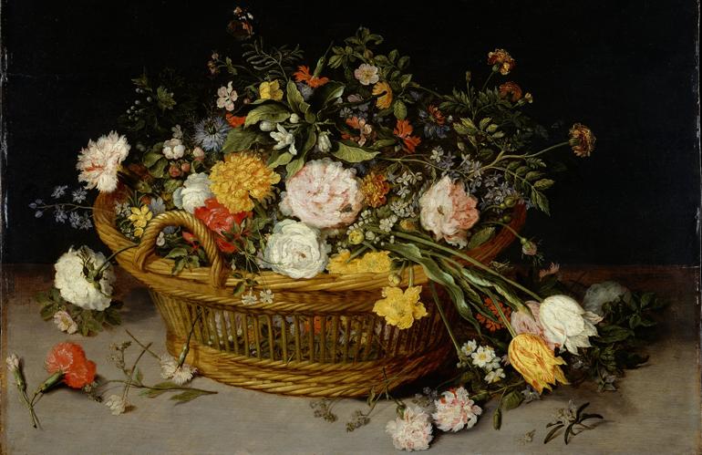 Arte verde: Bruegel padre e figlio, pittori di fiori